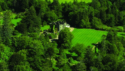 Armadale Castle and Gardens 2 Castle (aerial)