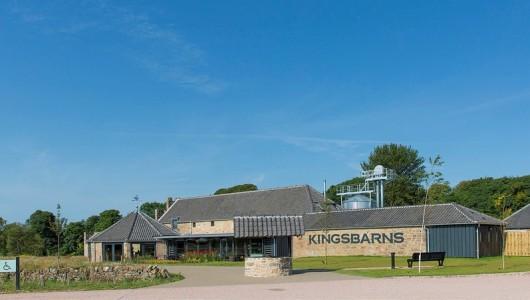 Kingsbarns Distillery - outside panoramic