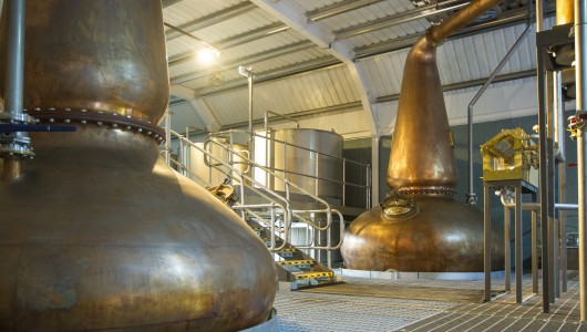 Kingsbarns Distillery - stills