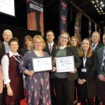 Abbey UK and Norman Allen Group Tours accept 2018 awards
